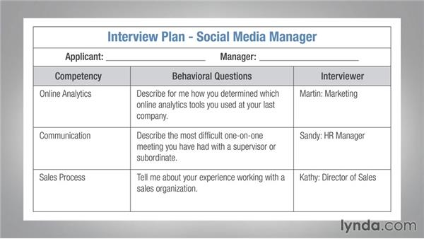 interview business plan example