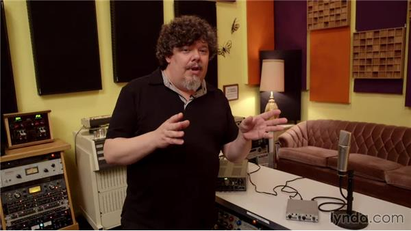 Gain staging: Music Production Secrets: Larry Crane on Recording