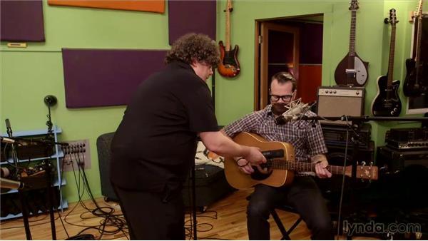 Recording live performances of acoustic guitar with vocal: Music Production Secrets: Larry Crane on Recording