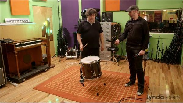 Finding the best drum placement in rooms: Music Production Secrets: Larry Crane on Recording
