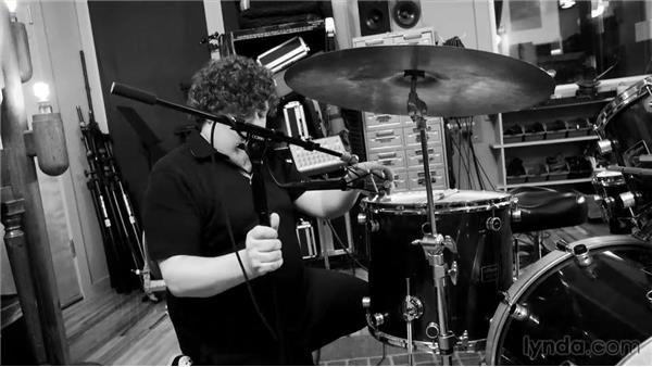 Miking drums: Music Production Secrets: Larry Crane on Recording