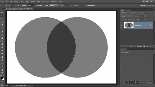 Adding, subtracting, and intersecting: Photoshop CC Selections and Layer Masking Workshop