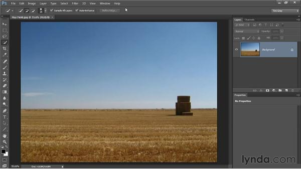 Using Deselect and Reselect: Photoshop CC Selections and Layer Masking Workshop
