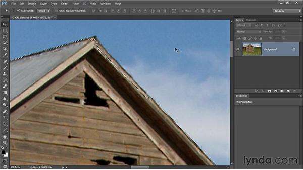 Quick Mask mode: Photoshop CC Selections and Layer Masking Workshop