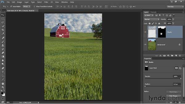 Reviewing layer masks: Photoshop CC Selections and Layer Masking Workshop