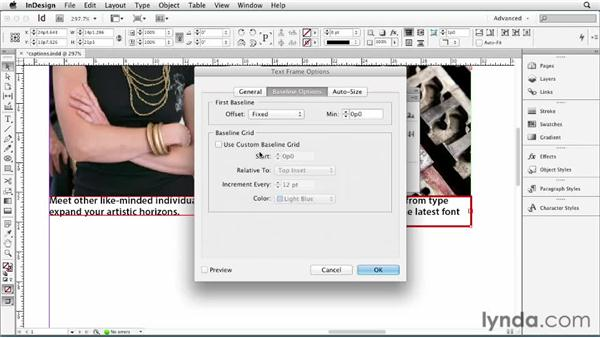 094 Setting the baseline position of a caption: InDesign Secrets