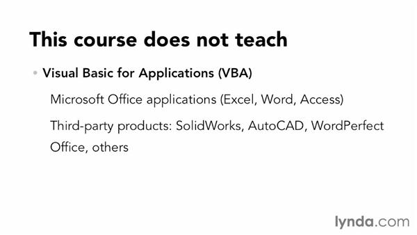 What you need to know: Visual Basic Essential Training
