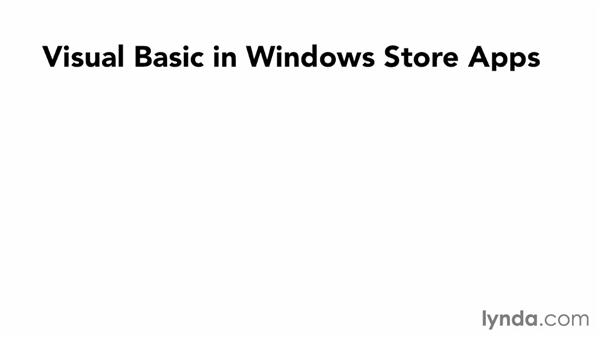Understanding the principles of Visual Basic: Visual Basic Essential Training