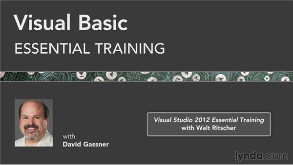 Next steps: Visual Basic Essential Training