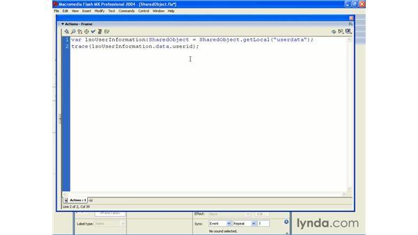 retrieving data: ActionScript 2.0 Beyond the Basics