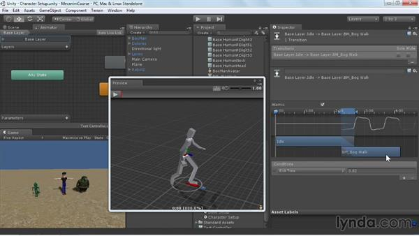 Welcome: Animating Characters with Mecanim in Unity 3D