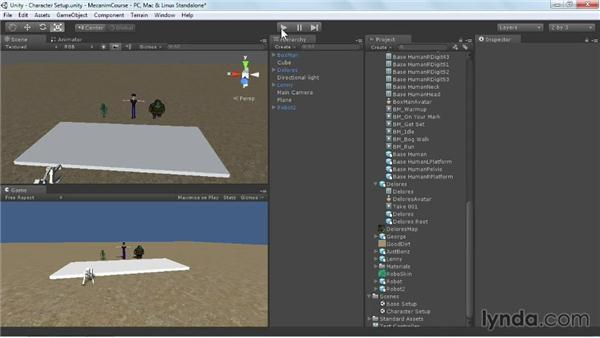Setting up characters to interact with their environment: Animating Characters with Mecanim in Unity 3D