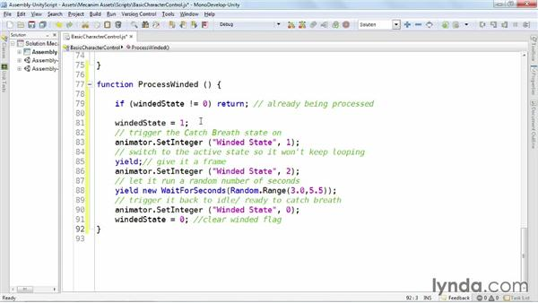 Scripting the Any state: Animating Characters with Mecanim in Unity 3D