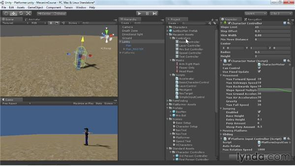 Using Mecanim with platform jumpers: Animating Characters with Mecanim in Unity 3D