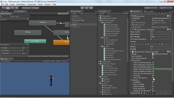 Refining a multistate jump: Animating Characters with Mecanim in Unity 3D