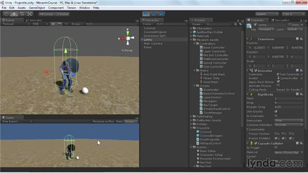 Taking hits: Animating Characters with Mecanim in Unity 3D