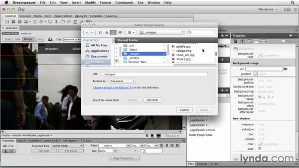 Approaches to learning web design: Dreamweaver CC Essential Training