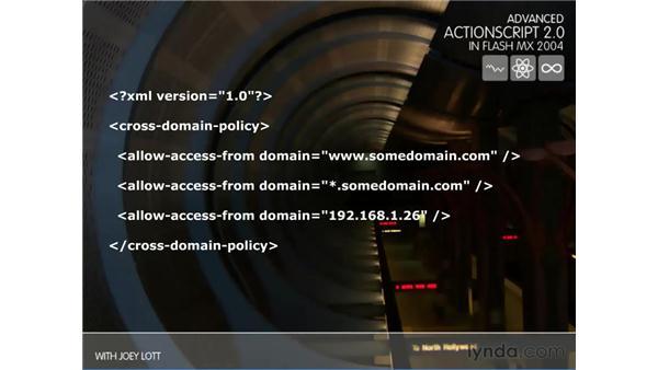 sandbox security: ActionScript 2.0 Beyond the Basics