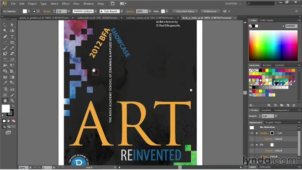 Navigating within a document: Illustrator CC Essential Training (2013)