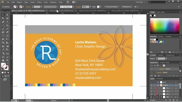 Using preview modes: Illustrator CC Essential Training (2013)