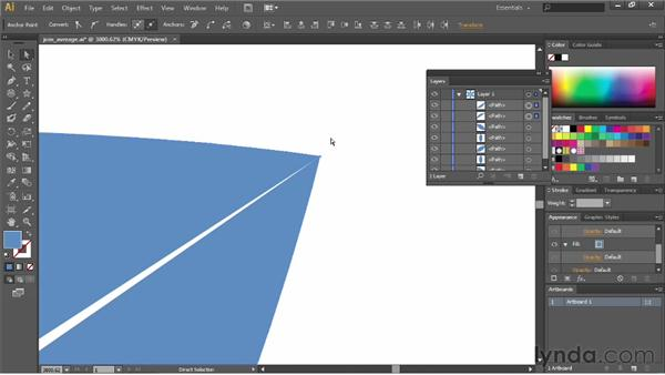 Joining and averaging paths: Illustrator CC Essential Training (2013)