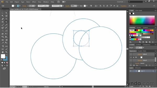 Understanding drawing modes: Illustrator CC Essential Training (2013)