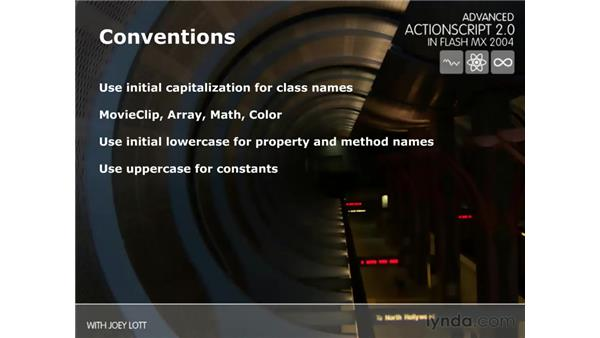 conventions: ActionScript 2.0 Beyond the Basics