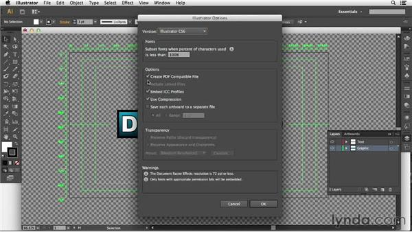 Importing Illustrator files as compositions: After Effects CC Essential Training