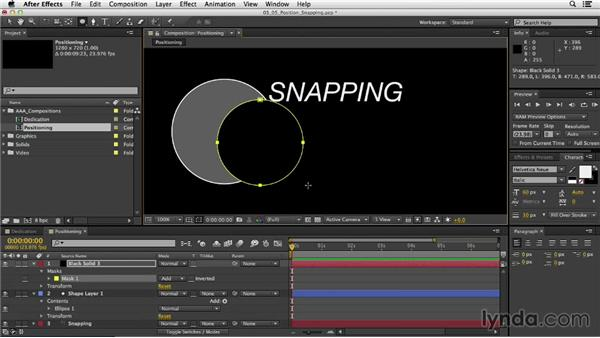Understanding Pre-compose: After Effects CC Essential Training
