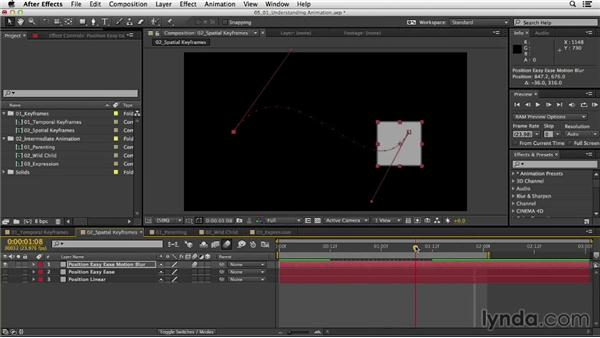 Understanding animation: After Effects CC Essential Training