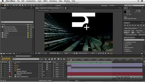 The power of parenting: After Effects CC Essential Training
