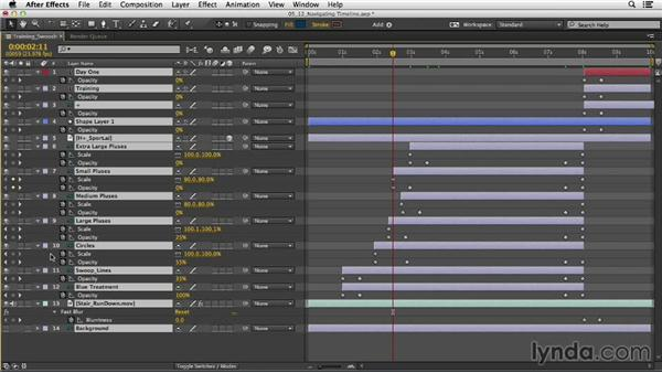 Working smarter: Navigating the Timeline: After Effects CC Essential Training