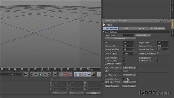 Matching CINEMA 4D Lite and After Effects projects: After Effects CC Essential Training