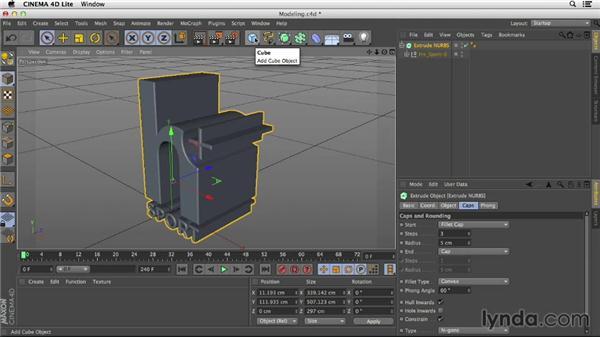 Exploring modeling in cinema 4d lite for Cinema 4d innenarchitektur