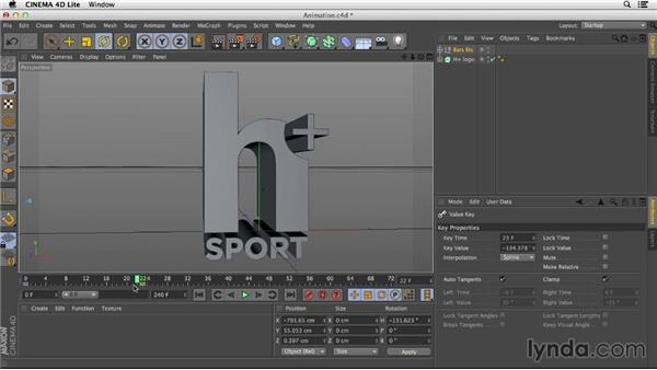 Animating in CINEMA 4D Lite: After Effects CC Essential Training