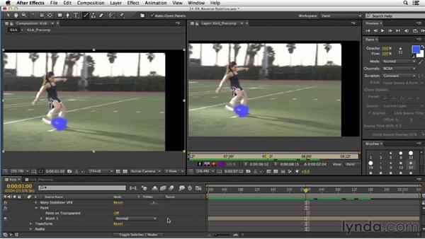 Warp Stabilizer VFX: Reversible Stabilization workflow: After Effects CC Essential Training