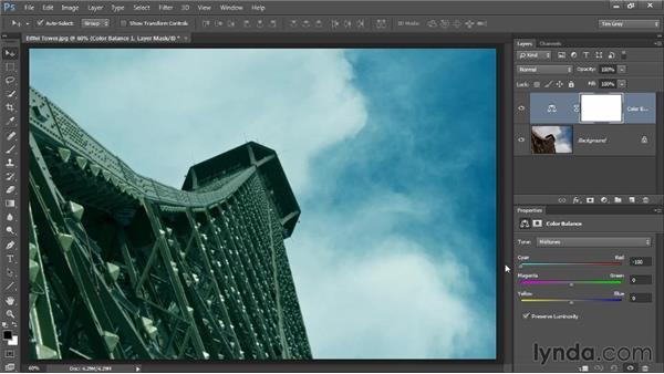 Wild swings of color balance: Up and Running with Color Correction in Photoshop CC