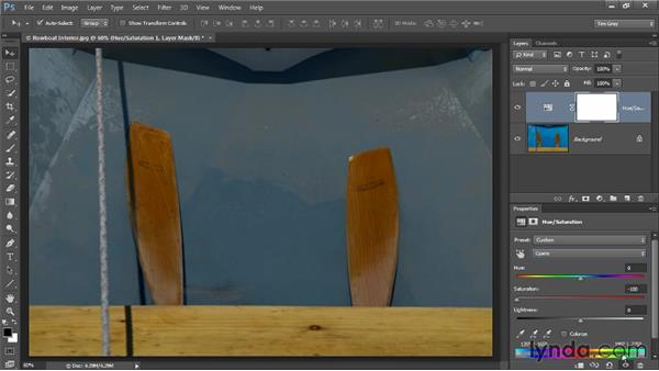 Balancing a specific color: Up and Running with Color Correction in Photoshop CC