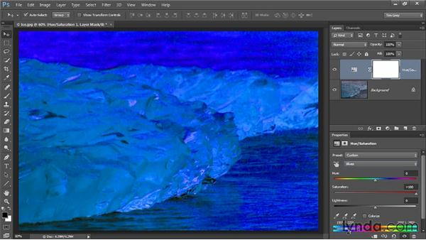 Eliminating a problem color: Up and Running with Color Correction in Photoshop CC