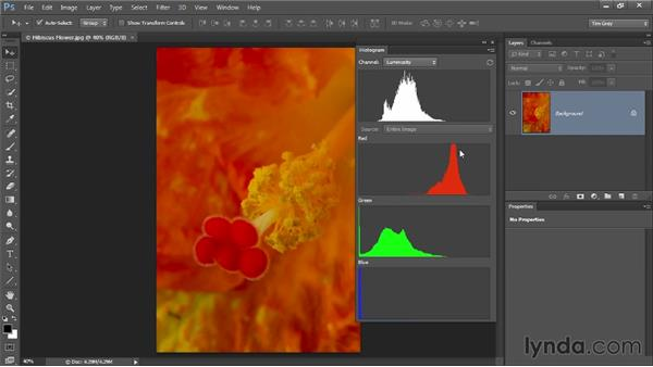 Recovering color detail: Up and Running with Color Correction in Photoshop CC