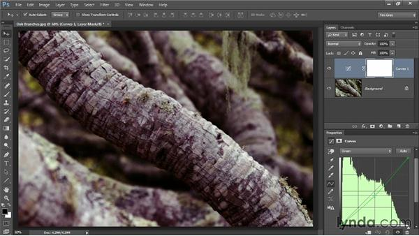 Sophisticated color with Curves: Up and Running with Color Correction in Photoshop CC