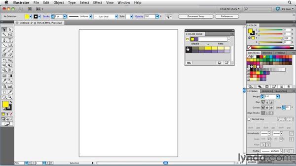 Understanding how the Color Guide works: Illustrator Insider Training: Coloring Artwork