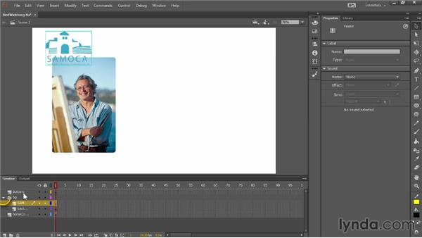 Understanding and organizing layers: Up and Running with Flash Professional CC