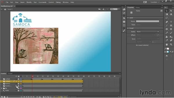 Using the primitive and Gradient Transform tools: Up and Running with Flash Professional CC