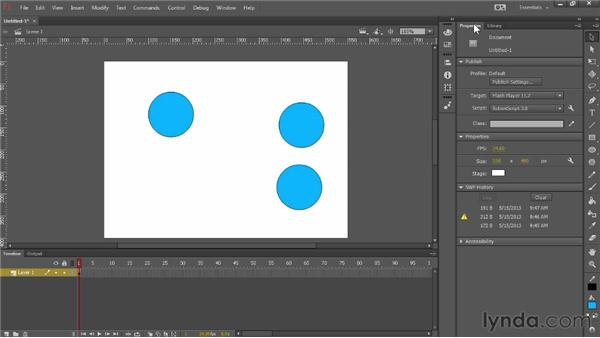 Introducing symbols: Up and Running with Flash Professional CC