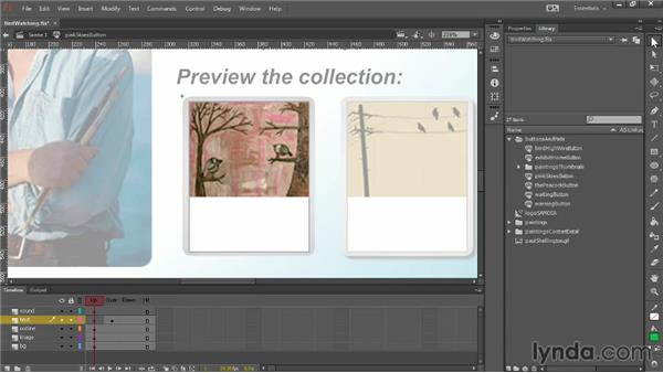 Nesting timelines: Up and Running with Flash Professional CC
