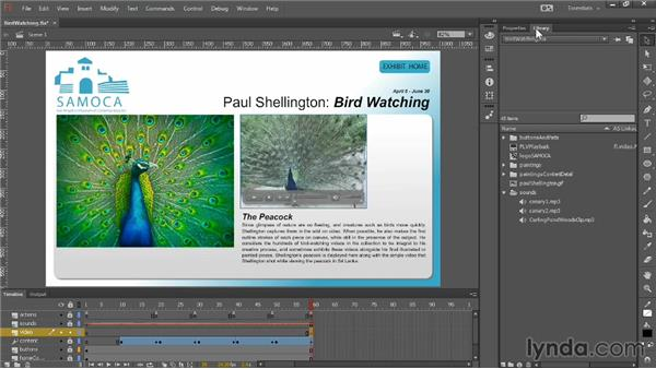 Integrating video: Up and Running with Flash Professional CC