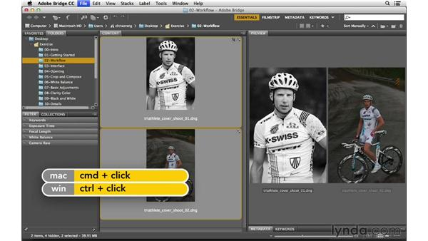 Processing multiple files at once: Photoshop CC for Photographers: Camera Raw 8 Fundamentals