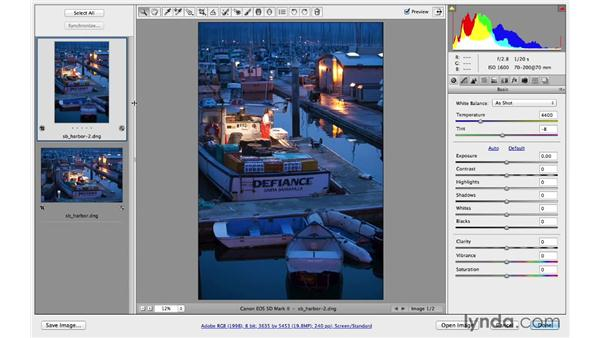 Working with multiple files: Photoshop CC for Photographers: Camera Raw 8 Fundamentals