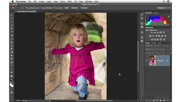 Opening files in Photoshop from Camera Raw: Photoshop CC for Photographers: Camera Raw 8 Fundamentals